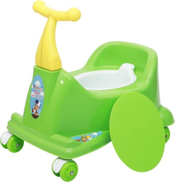 Maanit Scooter Style Baby Potty Seat with Removable Lid Bowl Potty Seat