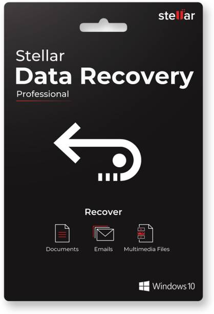 Stellar Data Recovery Software | Windows | Professional | 1 PC 1 Year | Activation Key Card