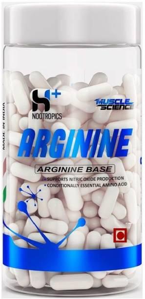 Muscle Science Arginine 500 mg, 120 Capsules