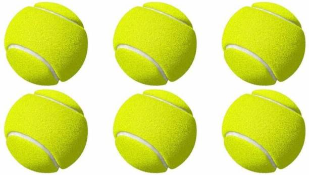 Swami Cricket Tennis Balls Pack Of 6 Cricket Tennis Ball