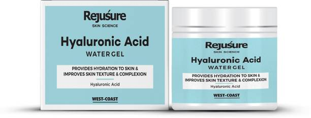 Rejusure Hyaluronic Acid Gel – Provides Hydration to Skin and Improves Skin Texture and Complexion – 50gm