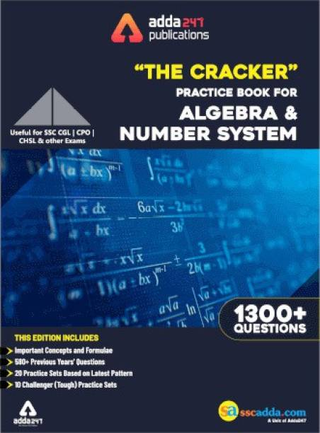 The Cracker Practice Book For Algebra & Number System