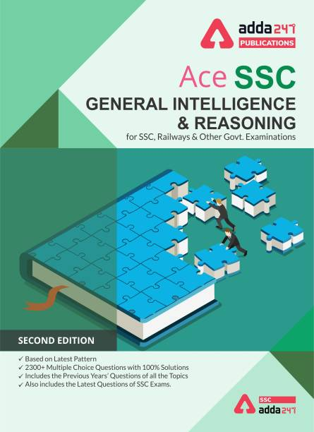 SSC Reasoning Book for SSC CGL, CHSL, CPO and Other Govt. Exams
