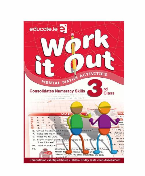 Mental Math Child Activity Book For Class 3: Work it out Best Book For kids like as Brain Booster