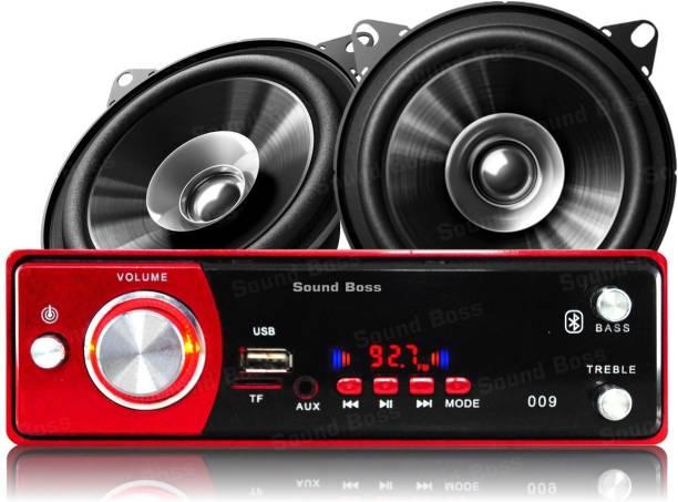 "Sound Boss USB/SD/BLUETOOTH/AUX/FM/MP3 Car Stereo + Dashboard 4"" Dual Performance Auditor 200W Car Stereo"