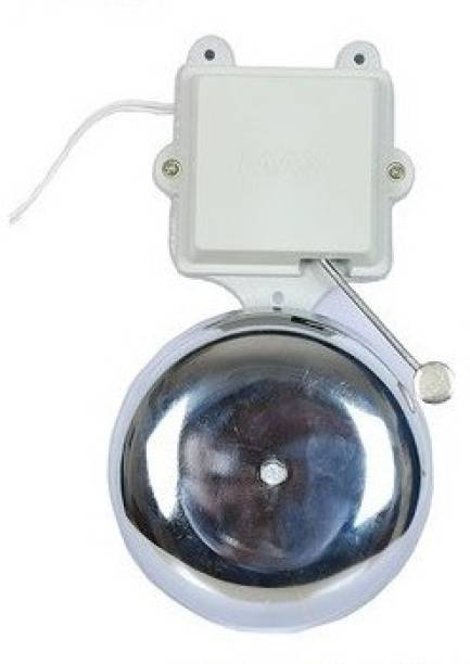 Security Store Electronic School Gong Bell- 4 inch Wired Door Chime