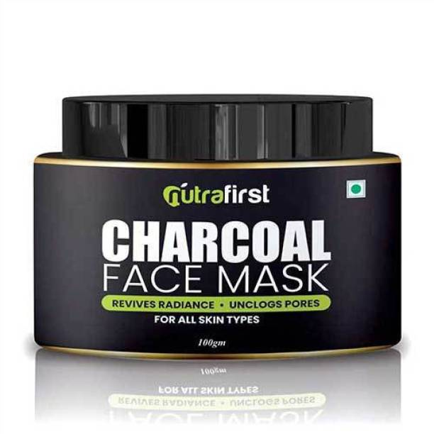 NutraFirst Charcoal Face Mask for Men & Women