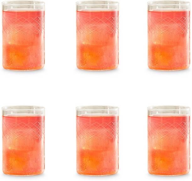 BOROSIL (Pack of 6) BN430120023 Glass Set