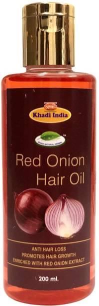 khadi natural herbal Red Onion  Hair Oil