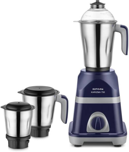 Kutchina Karizma 750 (750 Watt Mixer Grinder) 500 Mixer Grinder (3 Jars, Purple)