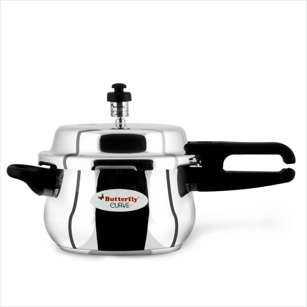 Butterfly Curve 3 ltr Induction Bottom Pressure Cooker