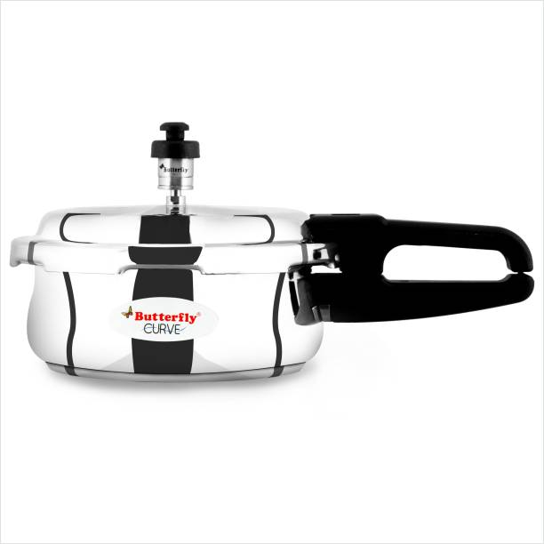 Butterfly Curve 2 L Induction Bottom Pressure Cooker