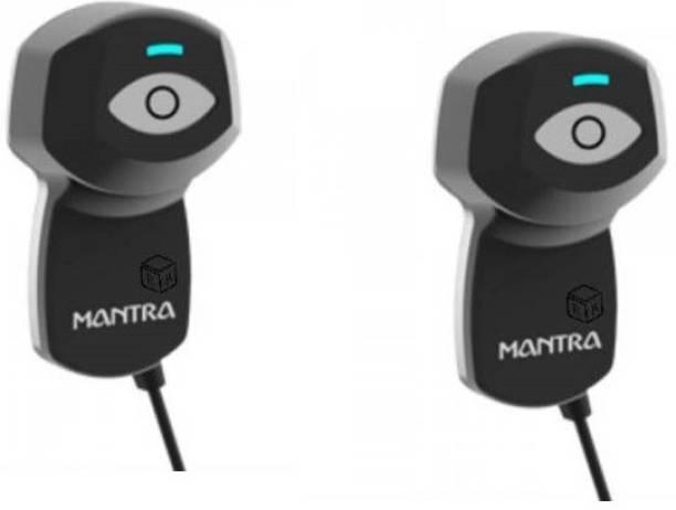 MANTRA Single Iris Scanner for Ayushman Bharat Scheme V2 USB Biometric Device (pack of 2) Scanner