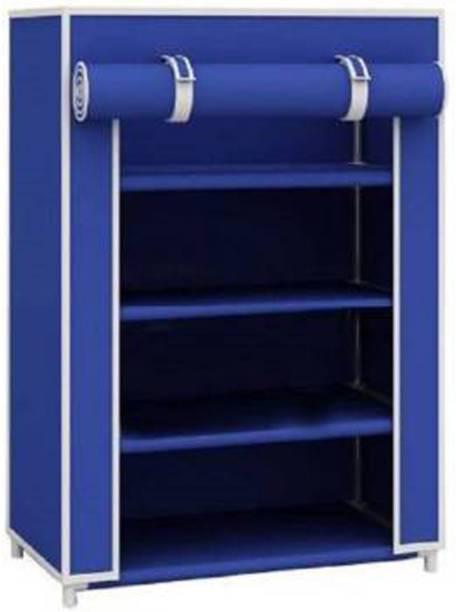 arovemic Stylish Shoe Stand DIY Plastic Shoe Portable Storage Organizer -01 Plastic Collapsible Shoe Stand