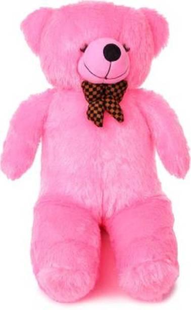 Miss & Chief 3 Feet Stuffed Spongy Huggable Teddy Bear  - 90 cm