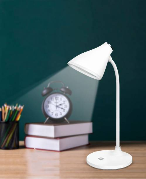 IDOLESHOP Rechargeable LED Touch On/Off Switch Desk Lamp Children Eye Protection Student Study Reading Dimmer Rechargeable Led Table Lamps USB Charging Study Lamp
