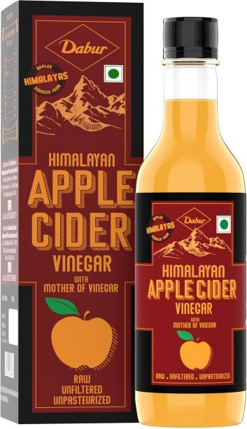 Dabur Himalayan Apple Cider Vinegar with Mother of Vinegar | Raw , Unfiltered , Unpasteurized Vinegar