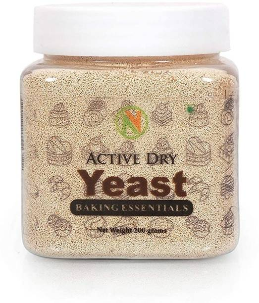 Nature Vit Baker's Instant Dry Yeast [Yeast for Baking Bread, Cake and Wine] Yeast Crystals