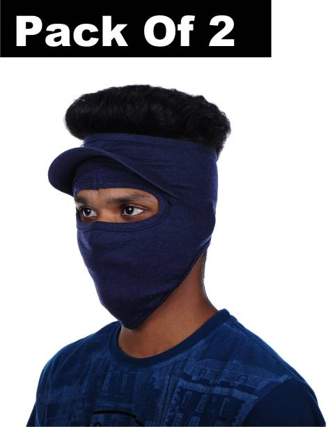 H-Store Blue Bike Face Mask for Men & Women