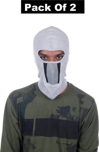 H-Store Grey Helmet Skull Cap for Men & Women