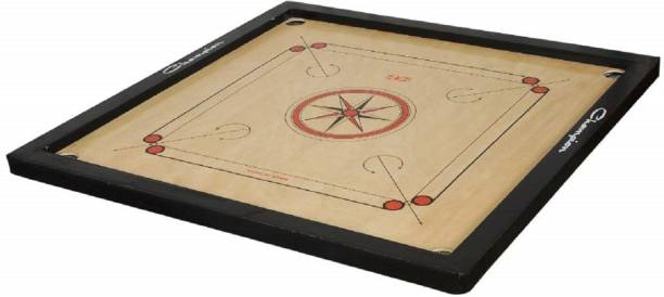 Craftnation Matte Finish (Water Proof) Full Size Carrom Board (32 Inch) Large Carrom Board Board Game