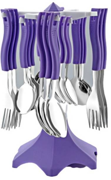 YAKEEN Plastic, Steel Cutlery Set