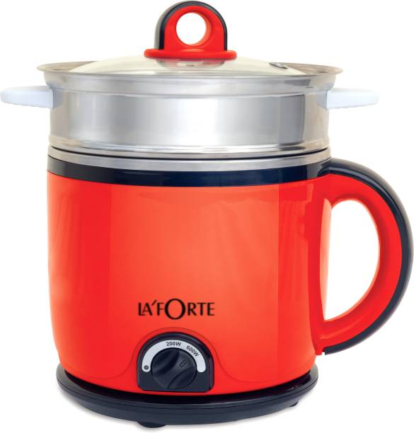 LA'FORTE MUKLF001R Multi Cooker Electric Kettle