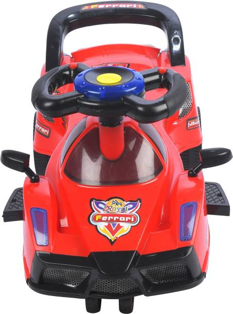 Pandaoriginals Car Non Battery Operated Ride On
