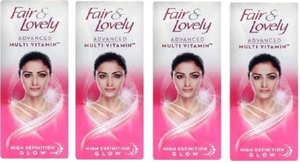 Fair & Lovely Advanced Multi Vitamin Fairness Cream (50*4)
