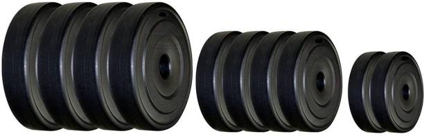 Spinway Pvc Weight Plates Free Weights Black Weight Plate