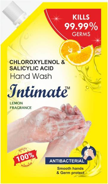 Intimate Antibacterial Lemon Hand Wash Pouch