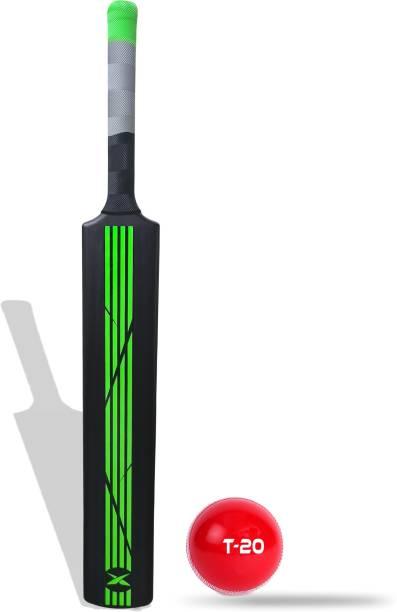 Jaspo Dominator Senior Plastic Cricket Bat with Soft Cricket Ball Cricket Kit