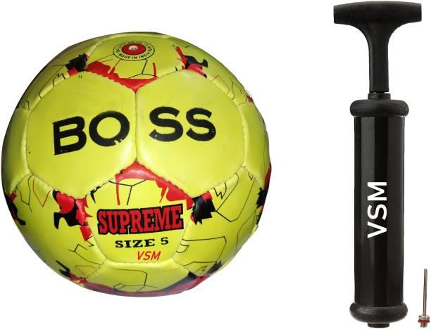 VSM Football Size 5 Football - Size: 5 With Pump Football Kit