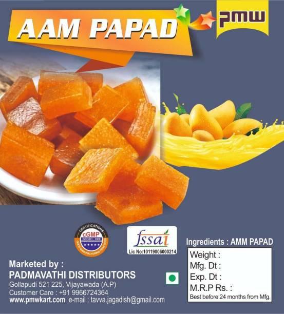 PMW Grade A Quality - Aam Papad - Mango Jelly - Mango Bar - 250 Grams mango jelly Jelly Candy