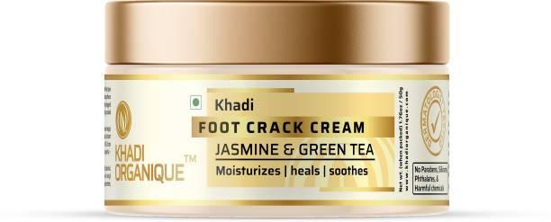 khadi ORGANIQUE JASMINE & GREEN TEA FOOT CRACK CREAM