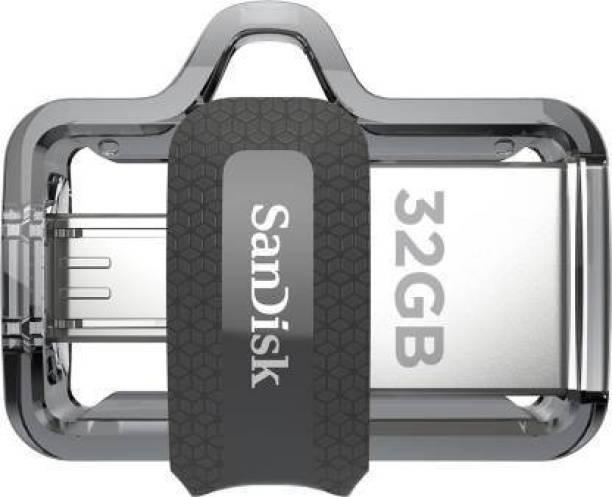 SanDisk Ultra Dual SDDD3-064G-I35 32 Pen Drive