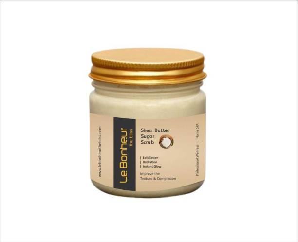 Le Bonheur Organic Shea Butter  Scrub
