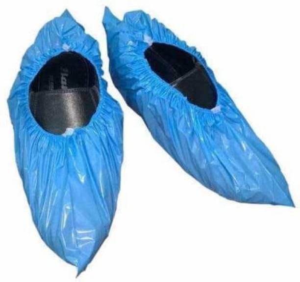 E-Shoppe ESSC_004 PP SHOE COVER PP (Polypropylene) BLUE Flat Shoe Cover