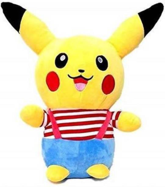 Rockjon Stuffed Plush Soft Toy Pokemon Pikachu  - 30 cm