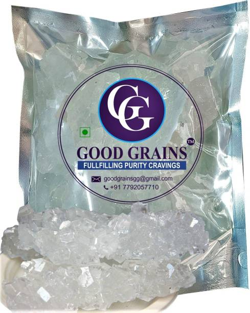good grains Pure White Rock Sugar (Dhaga Mishri) (Thread Crystal) (900 g) Sugar