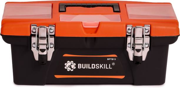 Buildskill BPTB13 Home Professional Heavy Duty High Quality With Metal Locks Tool Box with Tray