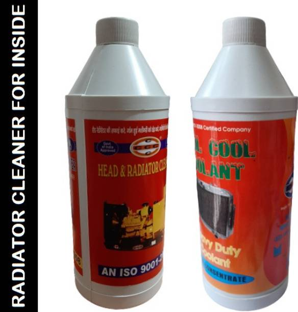 CCC Radiator cleaner descaling inside of radiator Engine Cleaner