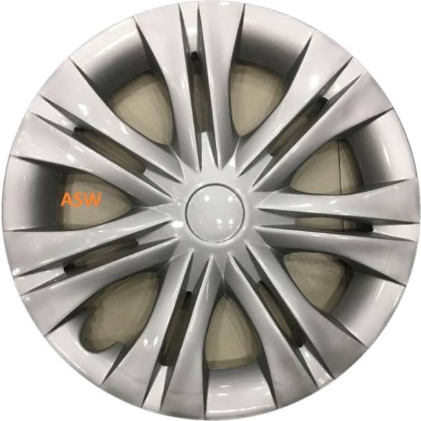 AutoSpareWorld Silver 15 Inch Wheel Cover For Toyota Innova