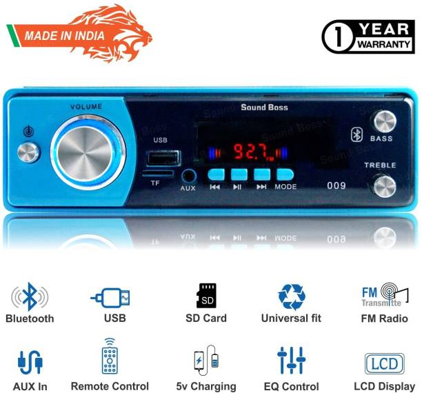Sound Boss Blutooth//FM/USB/SD/AUX SB-2021 Car Stereo