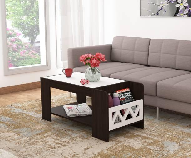 Okra MAGAZINE Engineered Wood Coffee Table
