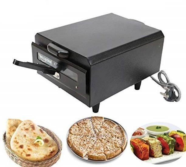 WELLBERG Electric Tandoor (Big Size) with Food Warming Top + Heat Proof Stand + 1 PCs Magic Cloth & Recipe Book Electric Tandoor