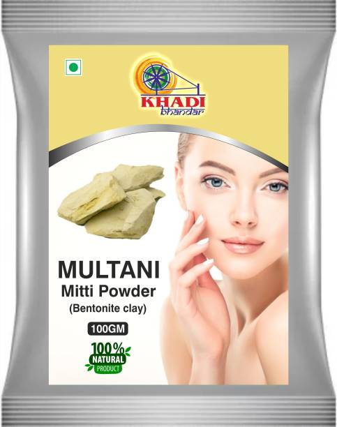 KHADI BHANDAR Multani Mitti Powder (Bentonite Clay)