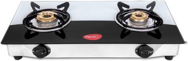 Pigeon Ultra Duo Glass Manual Gas Stove