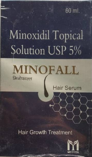 MINOFALL | Hair Serum (Minoxidil 5% Topical Solution) Pack Of 1*