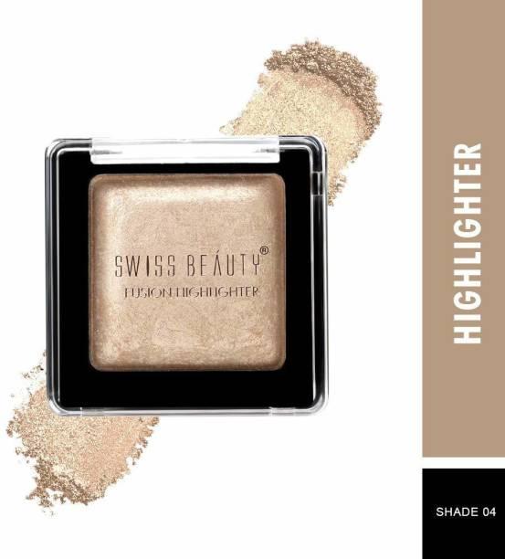 SWISS BEAUTY Fusion Highlighter, Face Makeup, Shade-04 ,6 gm Highlighter